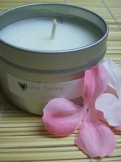 Love Story Lotion Candle
