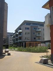 Malmo, housing courtyard