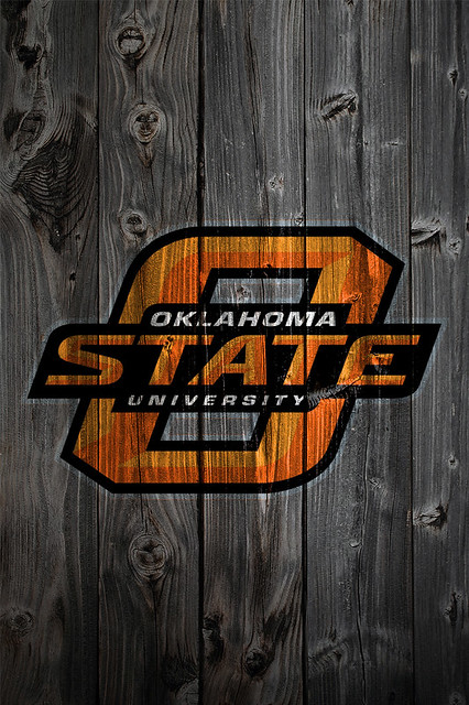 oklahoma state cowboys wood iphone 4 background flickr