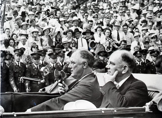 Roosevelt Visit to A&M