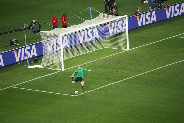 Manuel Neuer (Germany) Goal Kick   Flickr - Photo Sharing! A Cup Vs C Cup