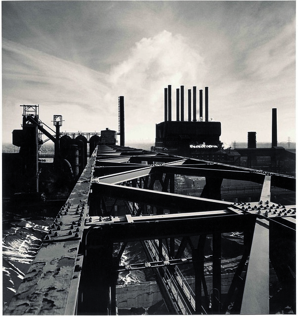 The Rouge, Study 87, Dearborn, by Michael Kenna 1995