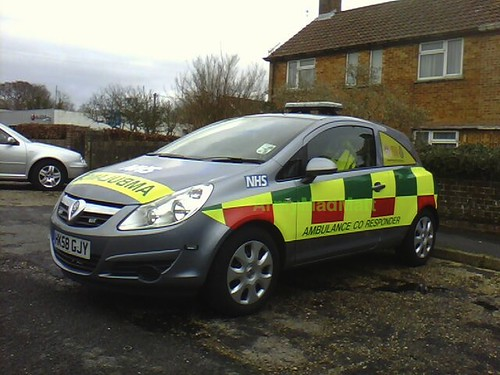 Hampshire Fire and Rescue - Ambulance Co Responder