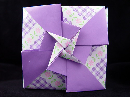 Origami box fancy pinwheel | Flickr - Photo Sharing! - photo#5