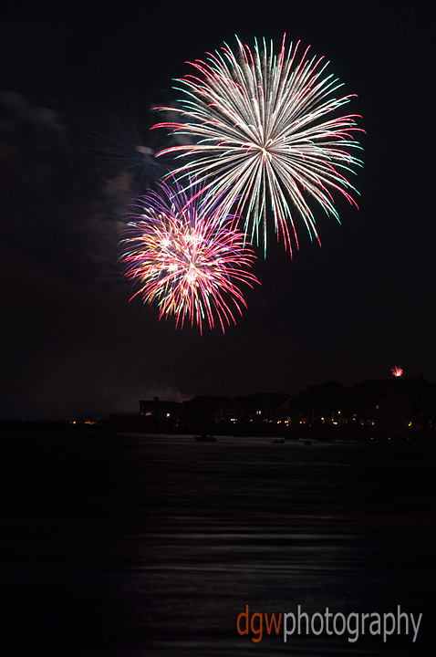 Fireworks From Walnut Beach