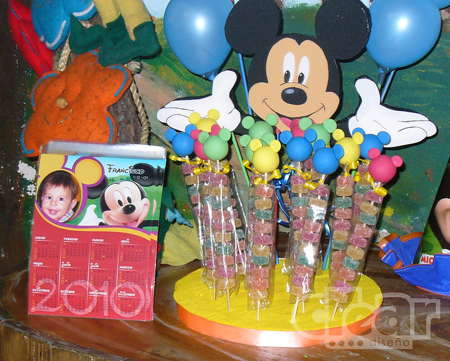 calendario souvenirs Mickey - pinchos dulces | Flickr - Photo Sharing!