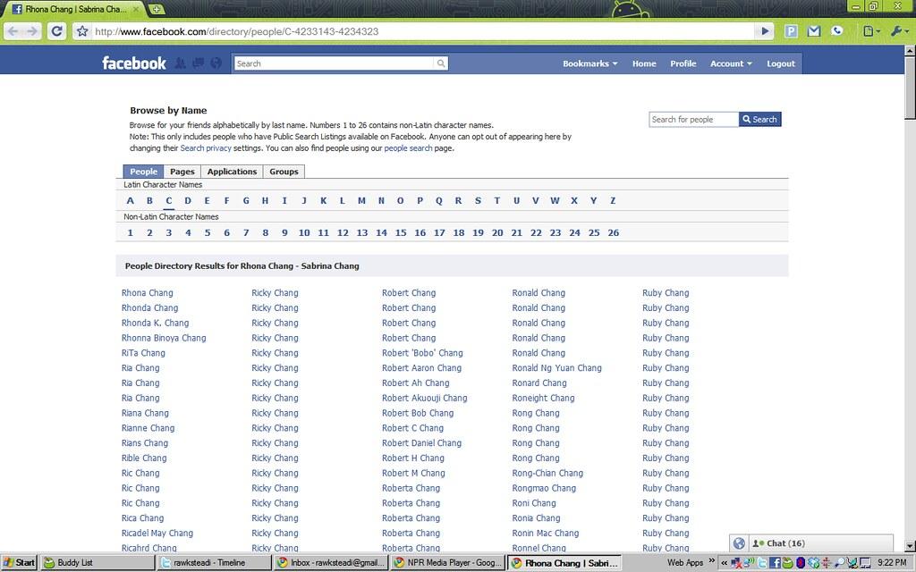 FB Directory
