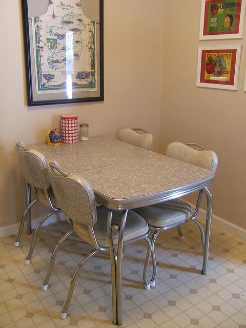 Eat in kitchen flickr photo sharing for Retro kitchen sets