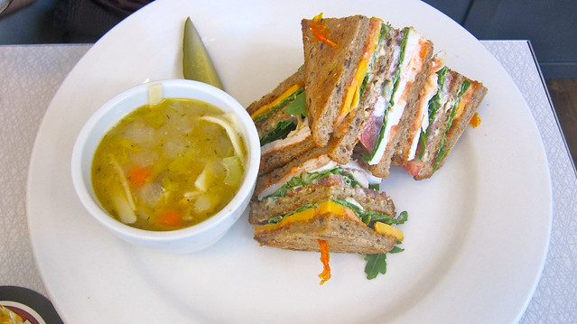 Chicken Club Sandwich | Acme Cafe