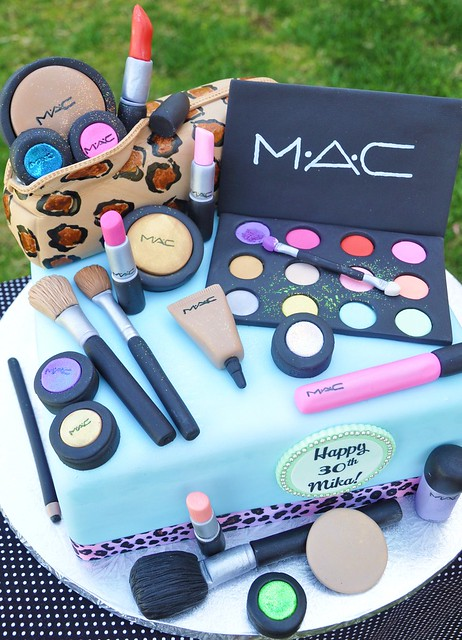 Mac Make Up Cake Flickr Photo Sharing