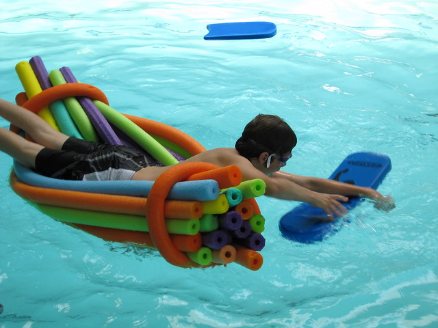 Raft Of Pool Noodles Flickr Photo Sharing