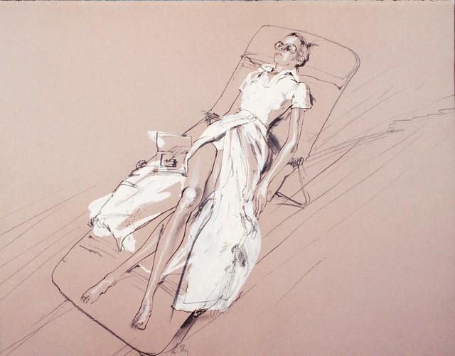 Fashion Illustration by Richard Ely