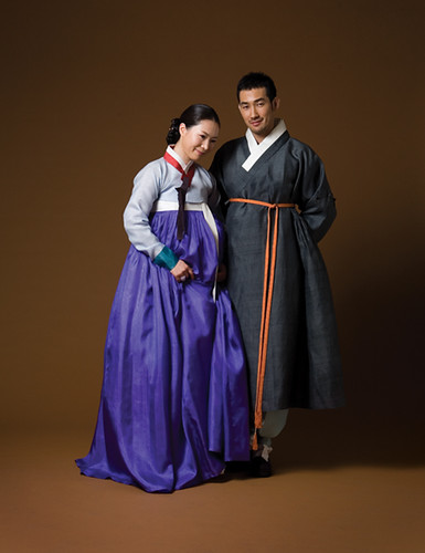 Hanbok for man and female