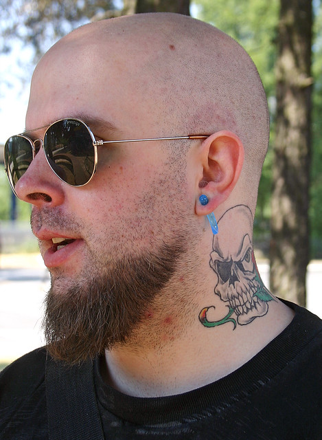 The Man With the Skull Tattoo Last summer I met Robban and one of his