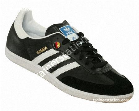Adidas Samba Black And White Adidas Samba Black White World