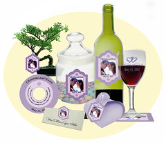 wine labels, bottle tags, wedding favors, wine stickers