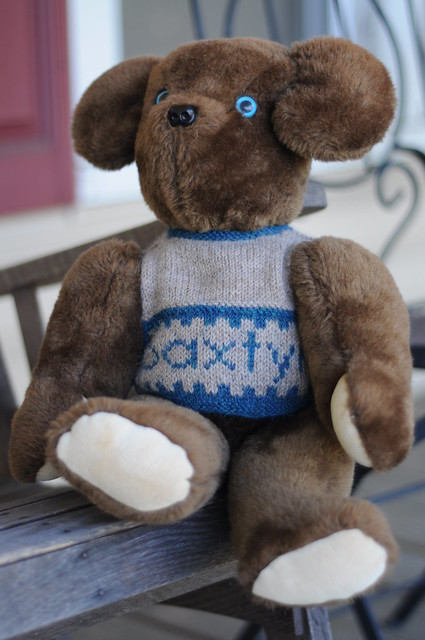 i knit for bears