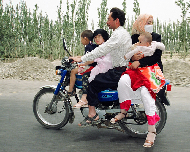 China: Xinjiang motorcycle