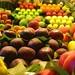 Fruit on Display and Ready for Sale, La Boqueria Market, Barcelona
