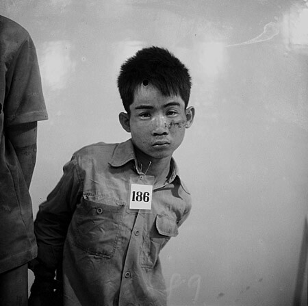 Victim 186, S-21 Tuol Sleng, before being tortured and murdered by the Khmer Rouge 1975-79