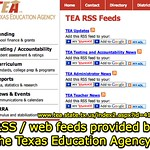Texas Education Agency - TEA RSS Feeds