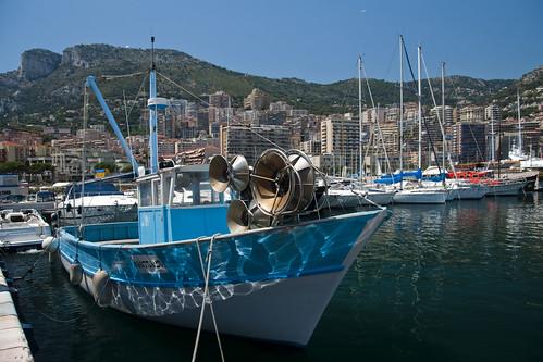 Monaco Harbour, France.