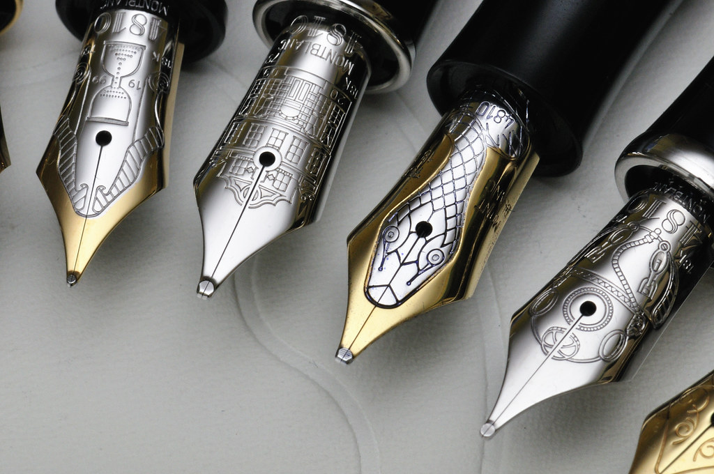 Montblanc Nib Pictures Montblanc The Fountain Pen Network