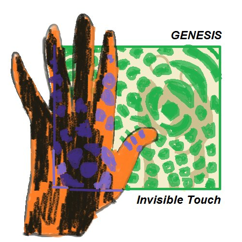 Genesis Invisible Touch Matthew Oglesby Leeds Uk