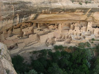 Cliff Palace Overlook, Chapin Mesa, Mesa Verde National Park