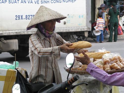 Bread seller, Hanoi