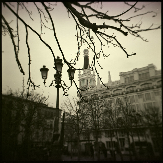 Madrid en invierno