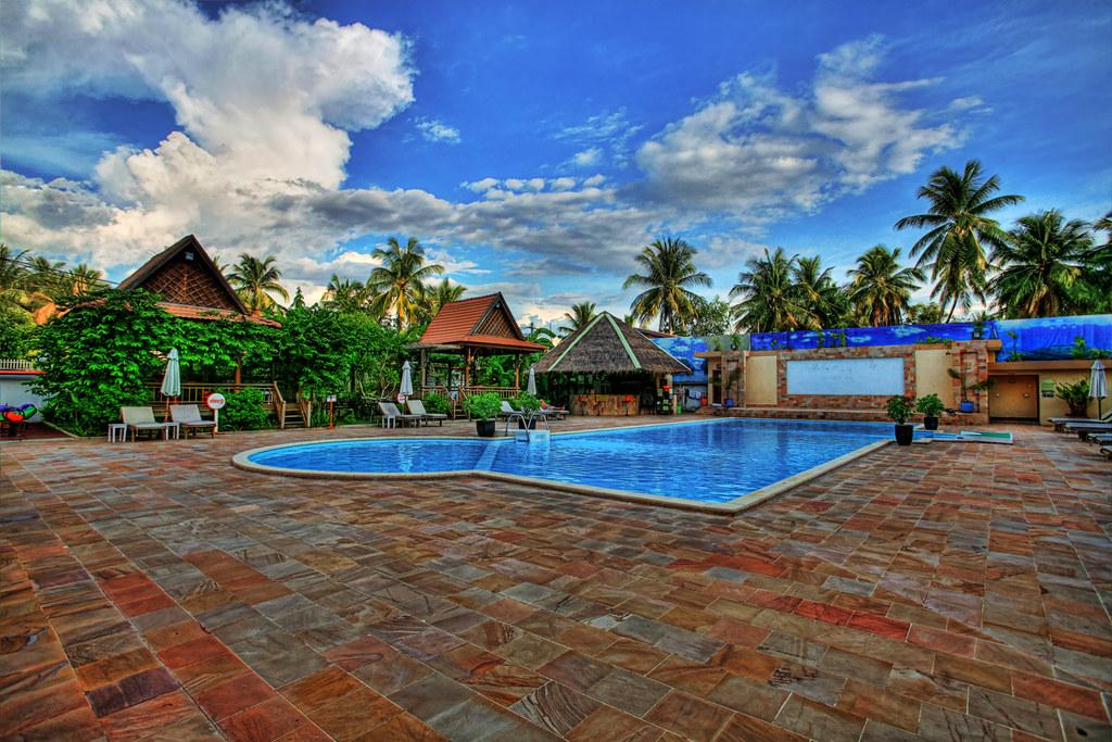 Kamara Hotel Pool - Battambang, Cambodia