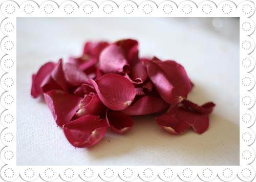 Rose Petals Hot Pink Real Rose Petals By The Wedding Of Flickr