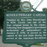 Revolutionary Capital Historic Marker