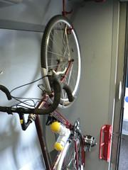 Train Bike storage
