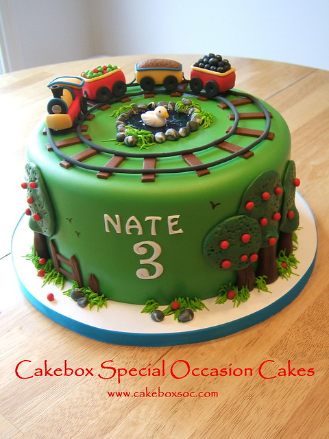 Images Of Train Birthday Cakes : Train Cake Flickr - Photo Sharing!
