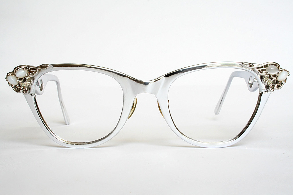 16dd4d510b ... Aluminum Stylrite Vintage Cat Eye Glasses