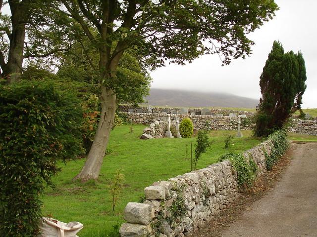 Road to Kirkbean Parish Church