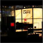 The ARMANI / DUBAI CAFFE @ The Dubai Mall, United Arab Emirates : WORLD : SENSE : EAT & STYLE! Enjoy every bite and sip! :)