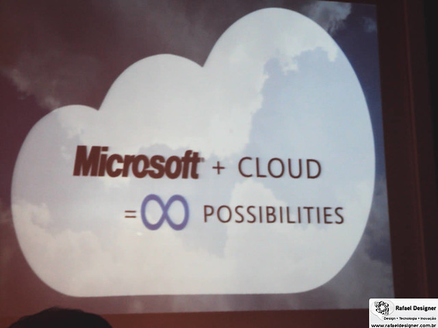 Microsoft Cloud Computing Slide