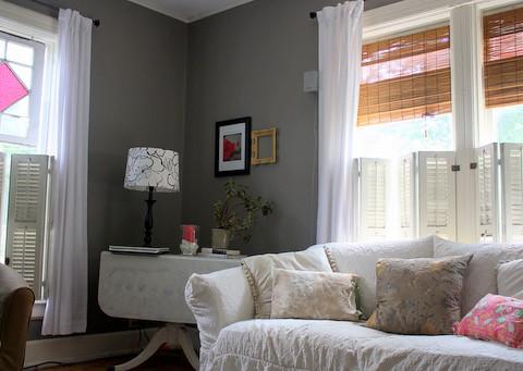 New gray walls in living room | Flickr - Photo Sharing!