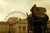 2006-05-07 - United Kingdom - England - London - The Sultan's Elephant - Horse Guards Parade - London Eye - Sepia by CGP Grey