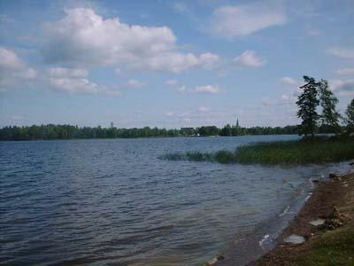 Lake just outside Norberg