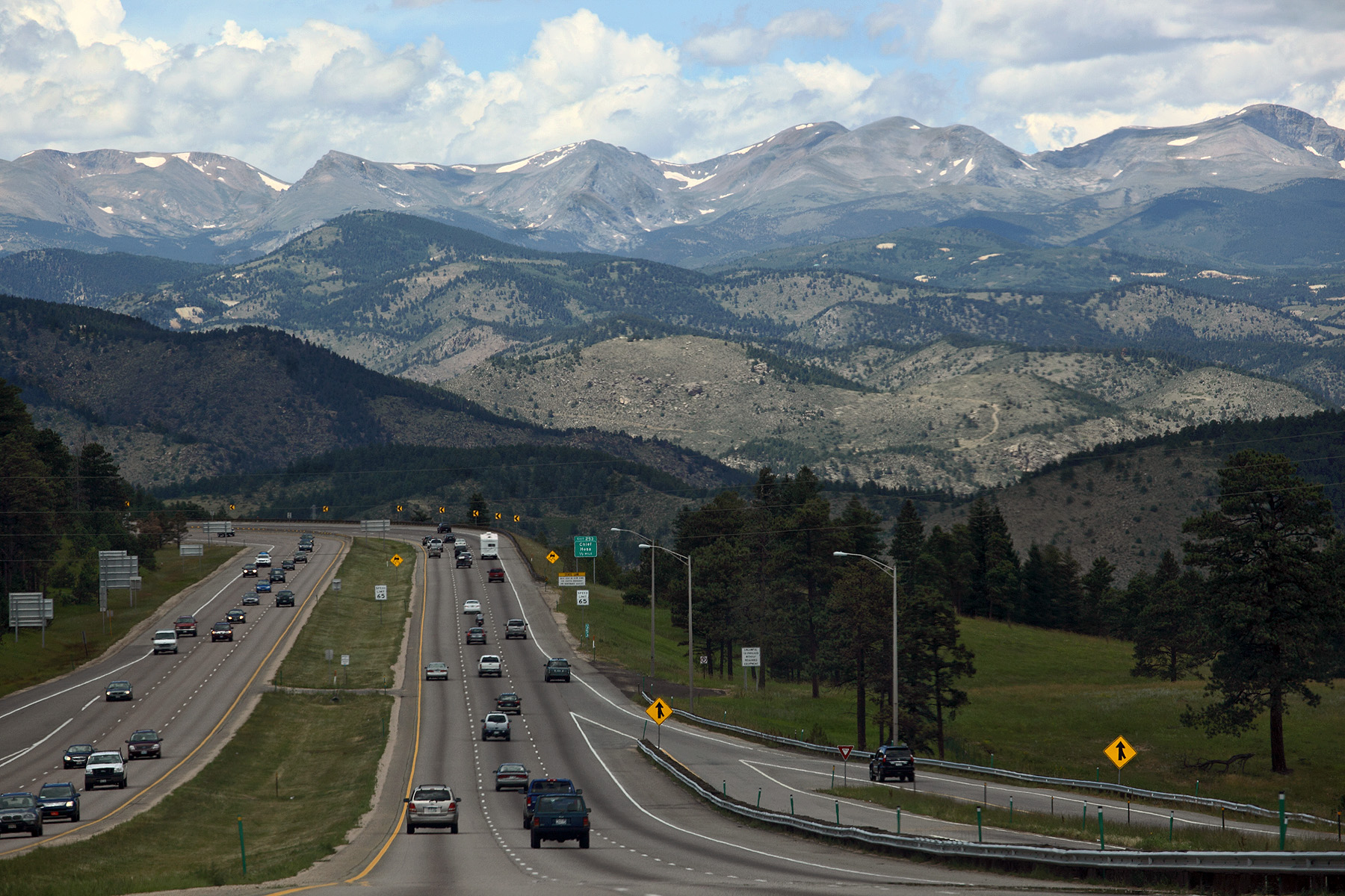 Rocky Mountains, I-70 West of Denver | Flickr - Photo Sharing!
