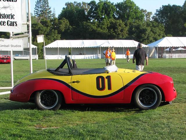 1960 porsche 356 race car 1 flickr photo sharing. Black Bedroom Furniture Sets. Home Design Ideas