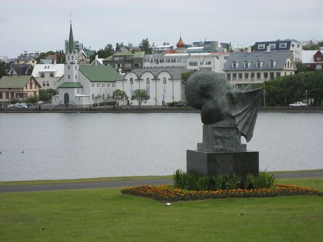 Tjornin Lake at Reykjavik by CC user davidstanleytravel on Flickr