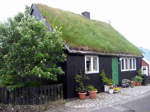 House in Tinganes, Torshavn