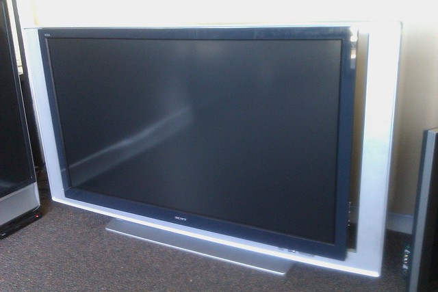sony 60 inch lcd rear projection hdtv 1080p 13 650 flickr photo sharing. Black Bedroom Furniture Sets. Home Design Ideas