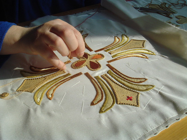 Hand-embroidery