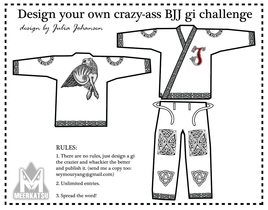 Please vote for my gi design!
